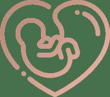 HypnoBirthing Berlin mit Patrycja Formella, glückliches Baby im Bauch der Mutter